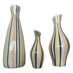 Set of Design Vases by Jarmila Formánková for Ditmar Urbach, 1970s