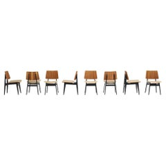Set of Dining Chairs by Jos De Mey for Luxus 1950s