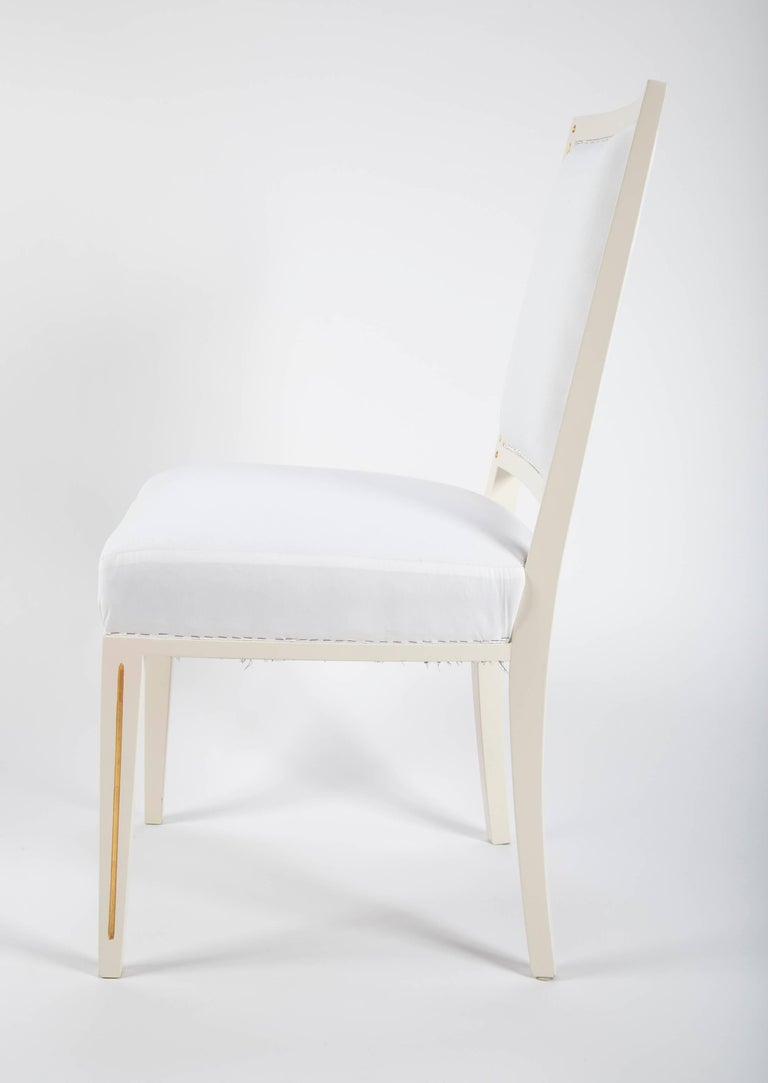 20th Century Set of Dining Chairs from Bellevue Palace/Berlin by Carl-Heinz Schwennicke For Sale