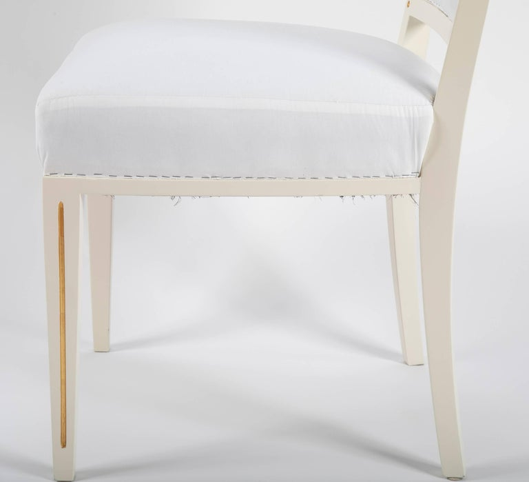 Wood Set of Dining Chairs from Bellevue Palace/Berlin by Carl-Heinz Schwennicke For Sale