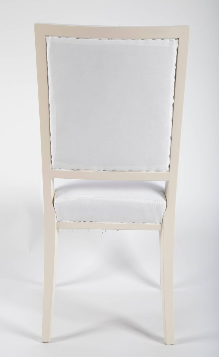 Set of Dining Chairs from Bellevue Palace/Berlin by Carl-Heinz Schwennicke For Sale 1