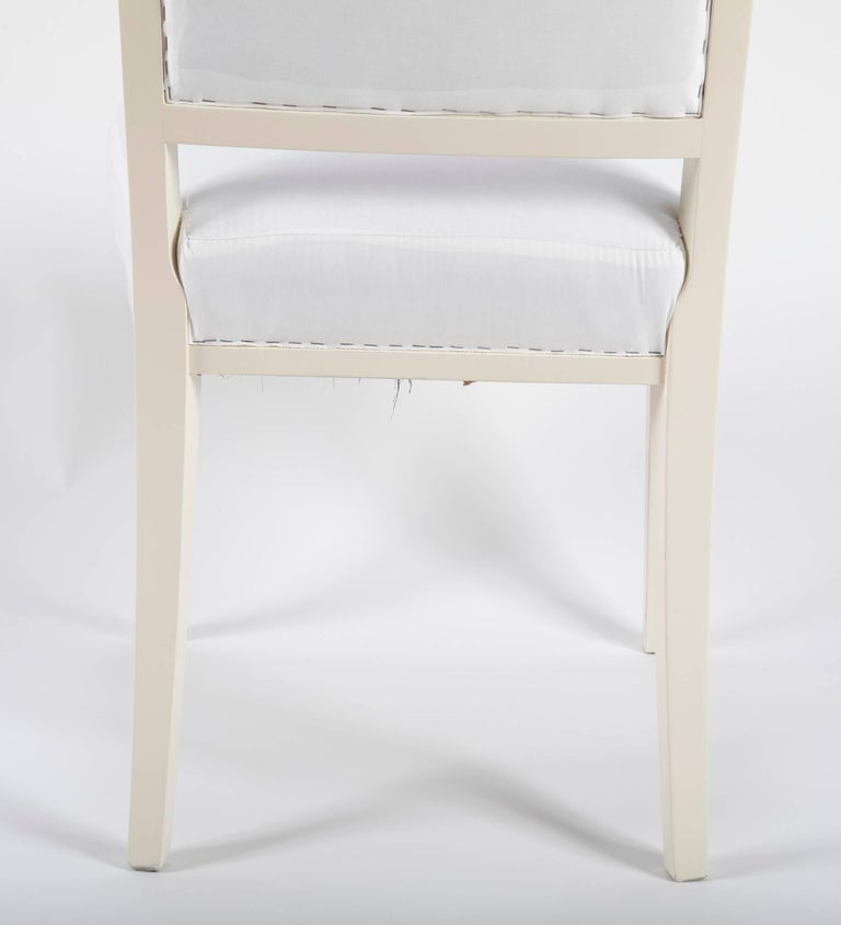 Set of Dining Chairs from Bellevue Palace/Berlin by Carl-Heinz Schwennicke For Sale 2