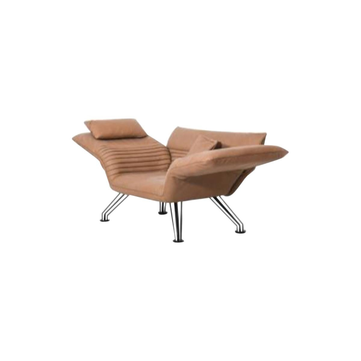 Set of DS-142 Multifunctional Lounge Chair with Cushions by De Sede