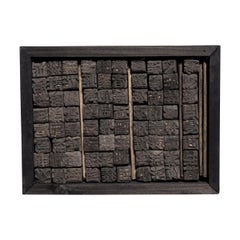 Set of Early 20th Century Chinese Wooden Printing Blocks