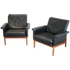 Set of Easy Chairs Finn Juhl Jupiter for France & Son