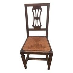 Set of Eight 18th Century Italian Side Chairs