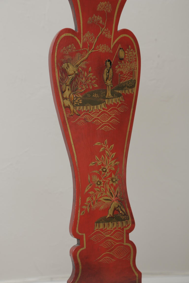 Set of Eight 19th Century Chinoiserie Style Dining Chairs For Sale 14