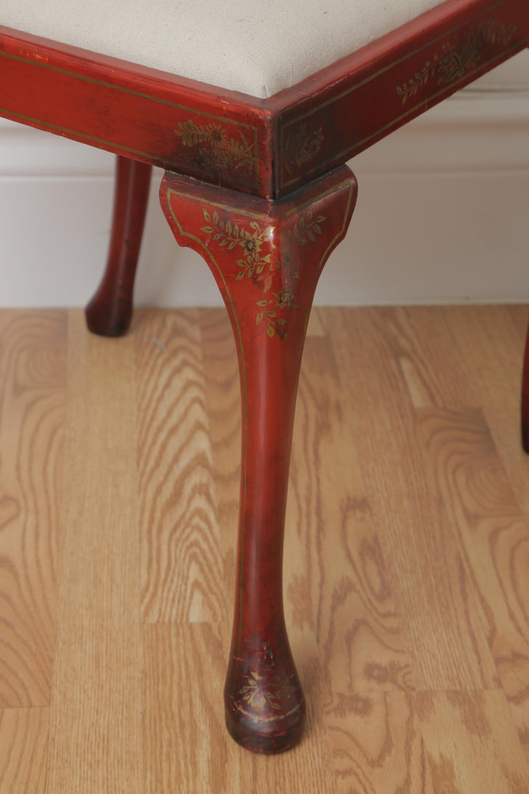 Set of Eight 19th Century Chinoiserie Style Dining Chairs For Sale 2