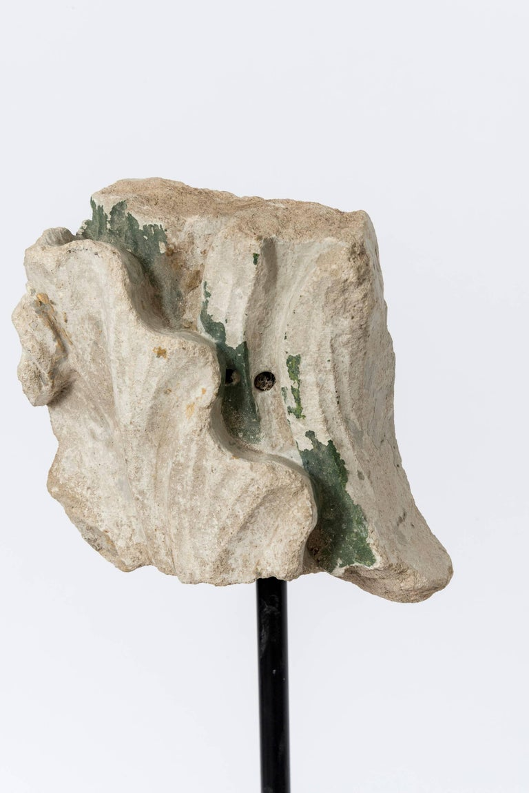 Set of Eight 19th Century Stone Fragments on Stands For Sale 2