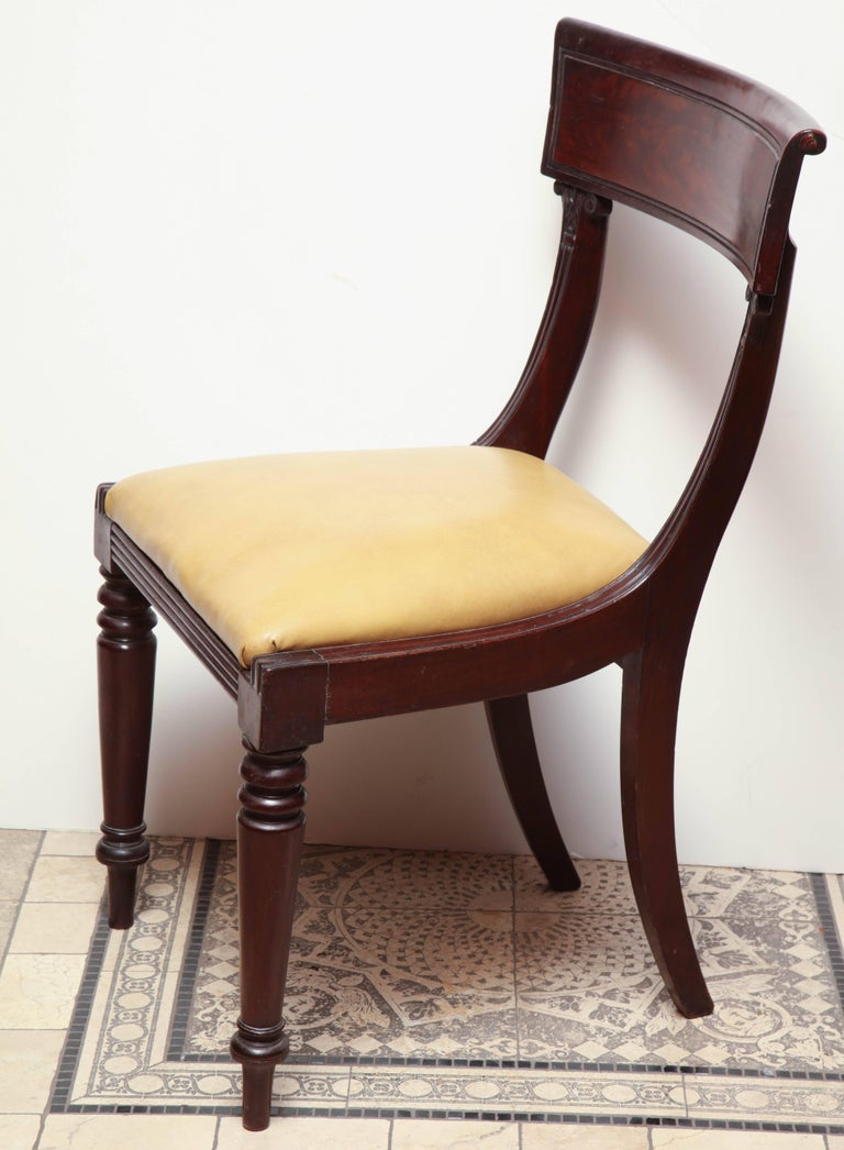 Set of Eight American Dining Chairs For Sale 1