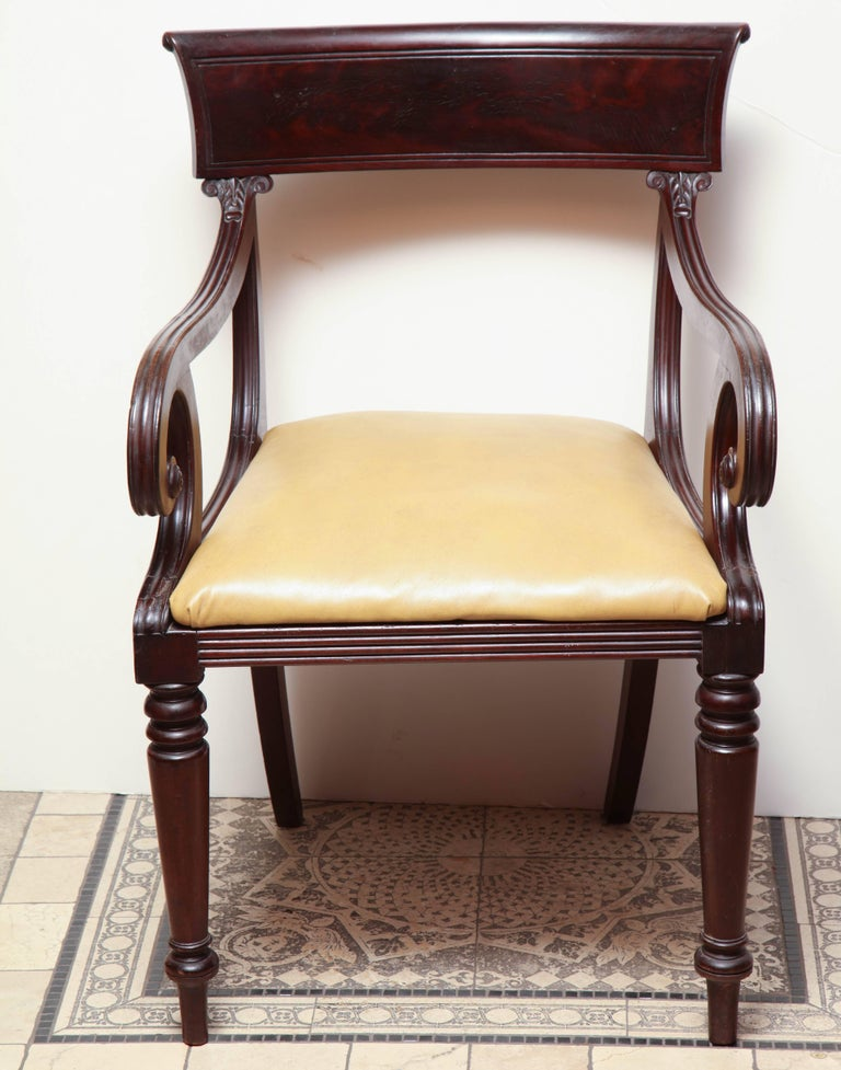 Set of Eight American Dining Chairs For Sale 2