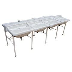 Set of Eight Antique Sinks / Basins