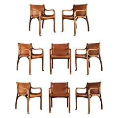 Set of Eight Armchairs by Cristian Valdes