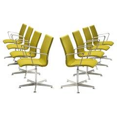 Set of Eight Arne Jacobsen for Fritz Hansen 'Oxford' Chairs