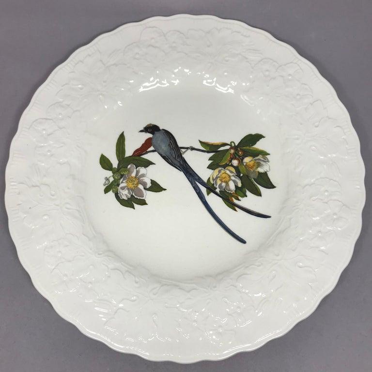 Set of Eight Audubon Bird Dinner Plates In Good Condition In New York, NY