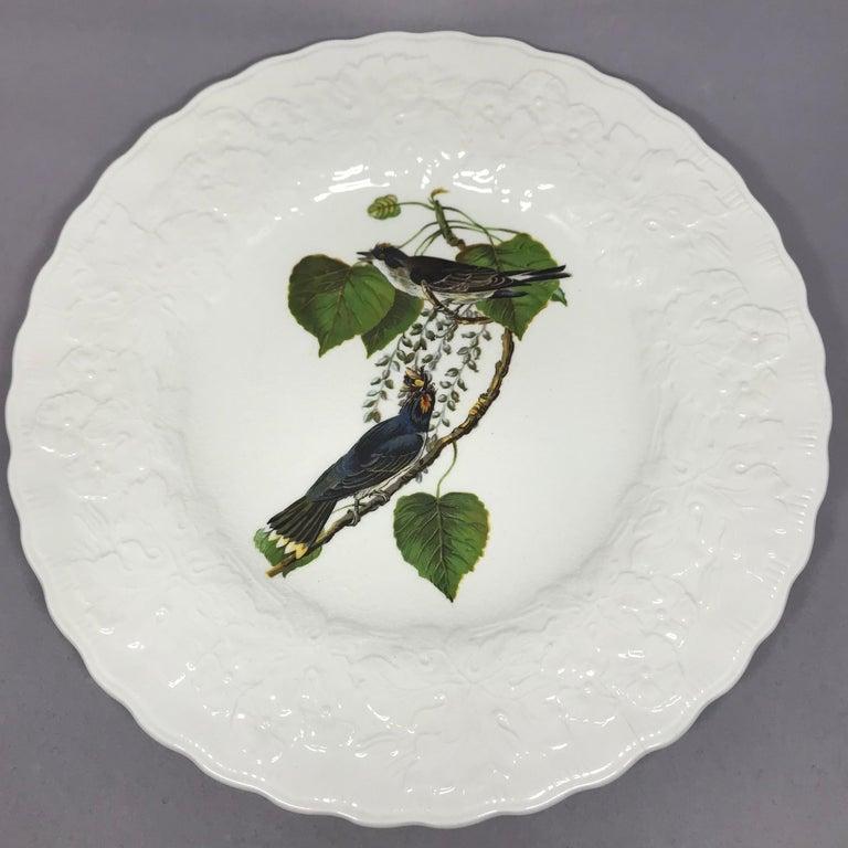 20th Century Set of Eight Audubon Bird Dinner Plates
