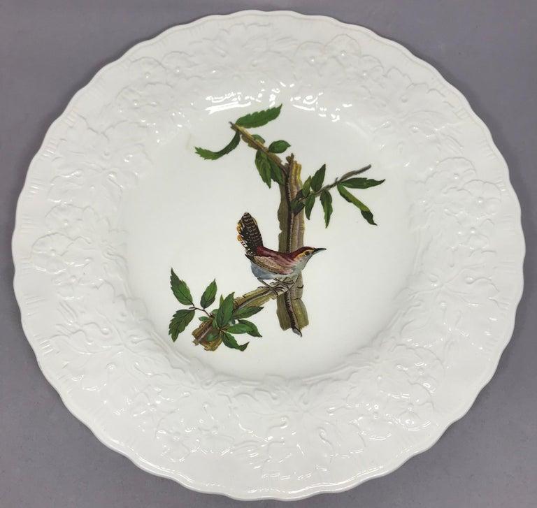 Set of Eight Audubon Bird Dinner Plates 1