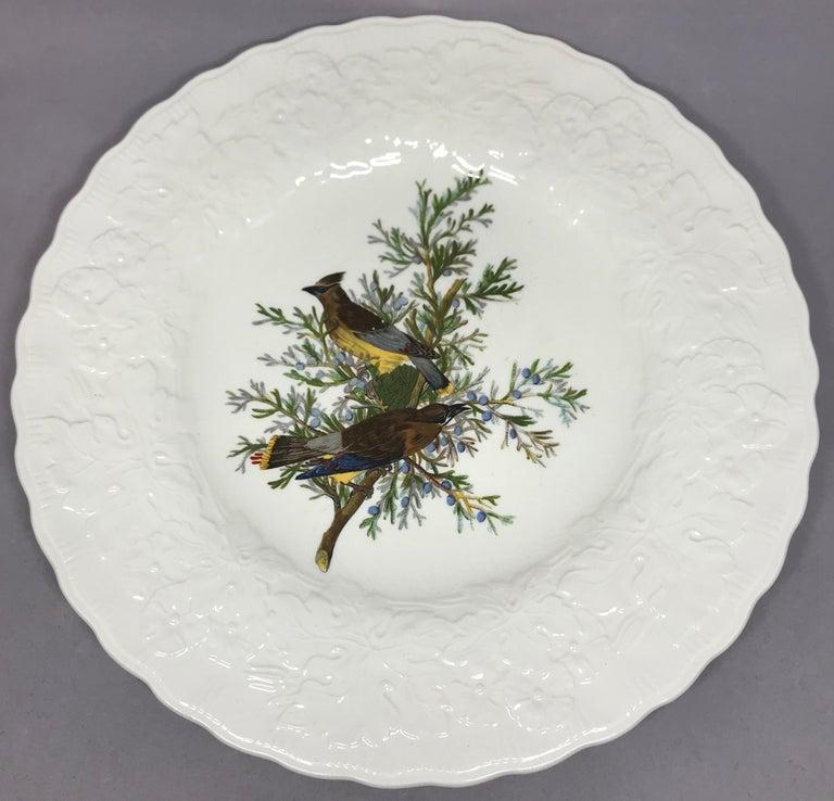 Set of Eight Audubon Bird Dinner Plates 2