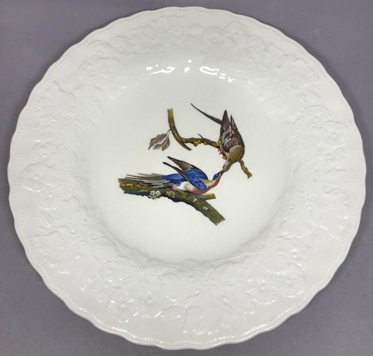 Set of Eight Audubon Bird Dinner Plates 3