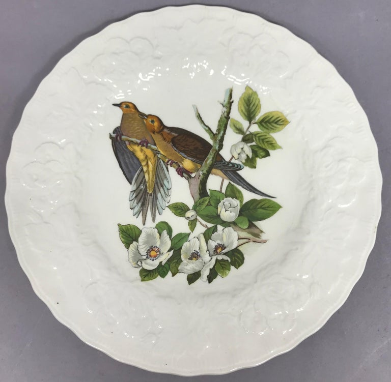 Set of Eight Audubon Bird Luncheon Plates 2