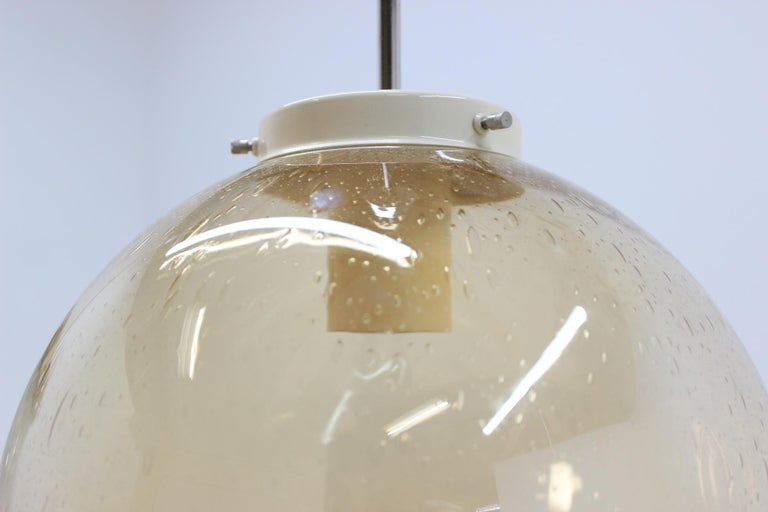 Set of Eight Chandeliers or Pendants, 1960s In Good Condition For Sale In Praha, CZ