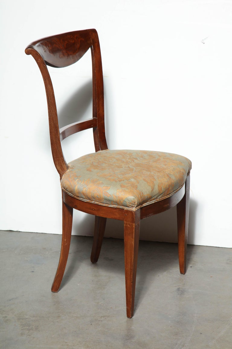 Set of Eight Charles X Dining Chairs For Sale 5