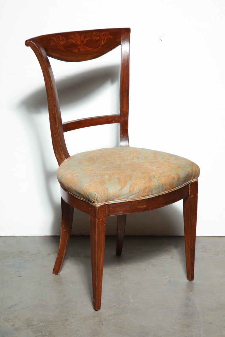 Set of Eight Charles X Dining Chairs For Sale 6