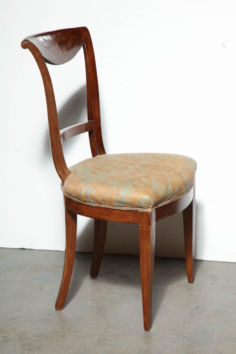Set of Eight Charles X Dining Chairs For Sale 1