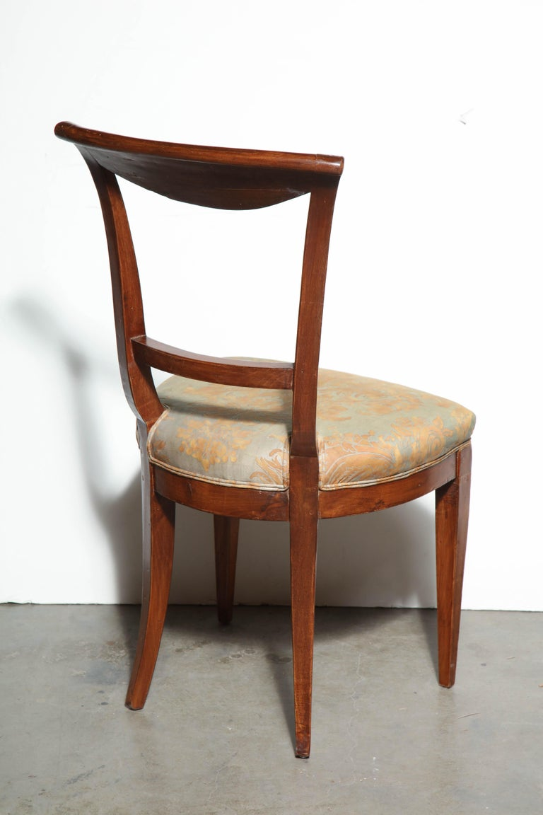 Set of Eight Charles X Dining Chairs For Sale 2