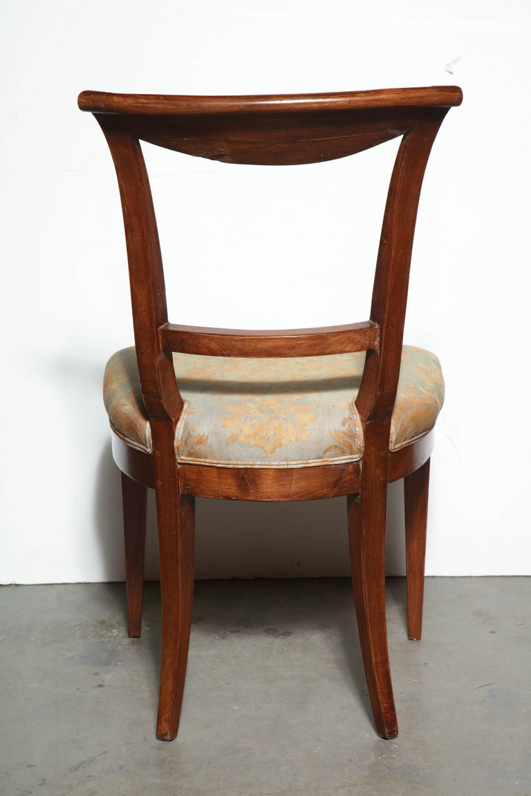 Set of Eight Charles X Dining Chairs For Sale 4