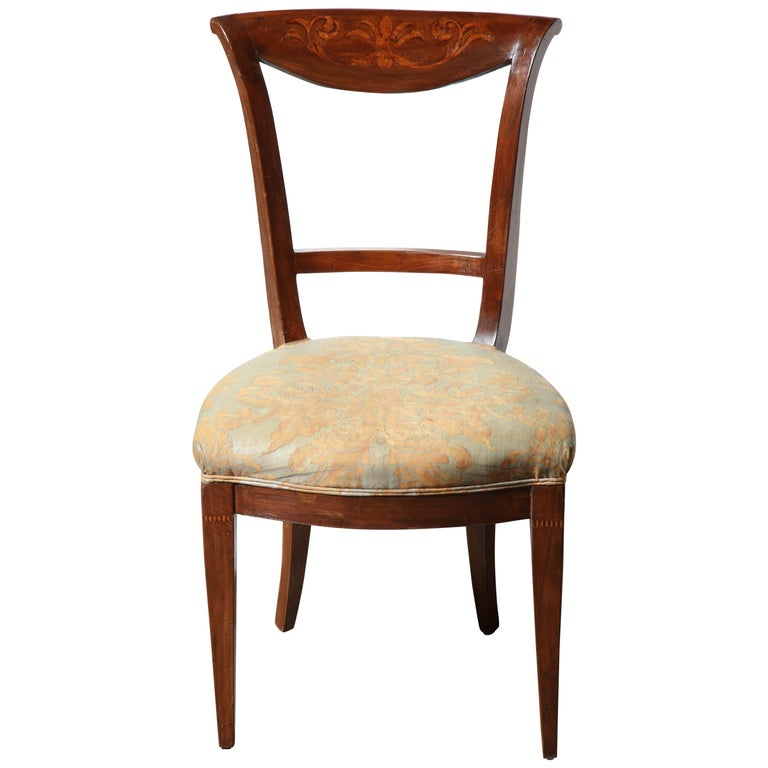Set of Eight Charles X Dining Chairs For Sale