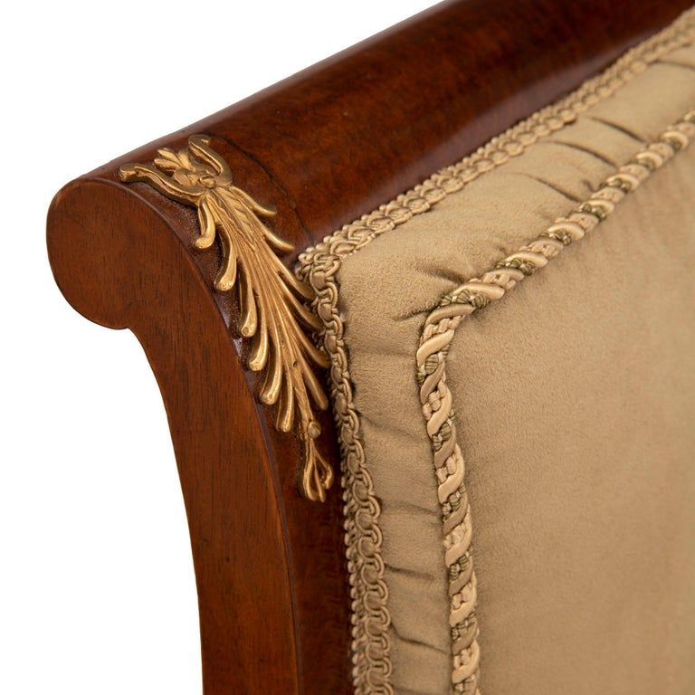 Set of Eight Continental 19th Century Biedermeier Style Dining Chairs For Sale 2