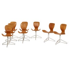 Set of Eight Dining Chairs by Adam Bottomley