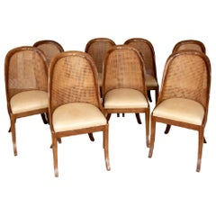 Set of Eight Dining Chairs by Designer Rose Tarlow, Melrose House LA, CA