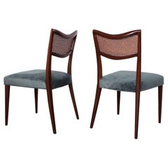 Set of Eight Dining Chairs by Harvey Probber