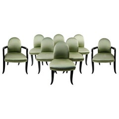 Set of Eight Dining Chairs by Wendell Castle
