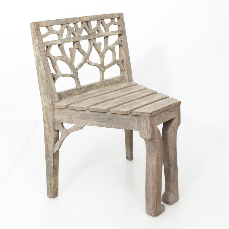 Set of Four Dining Chairs For Sale 1