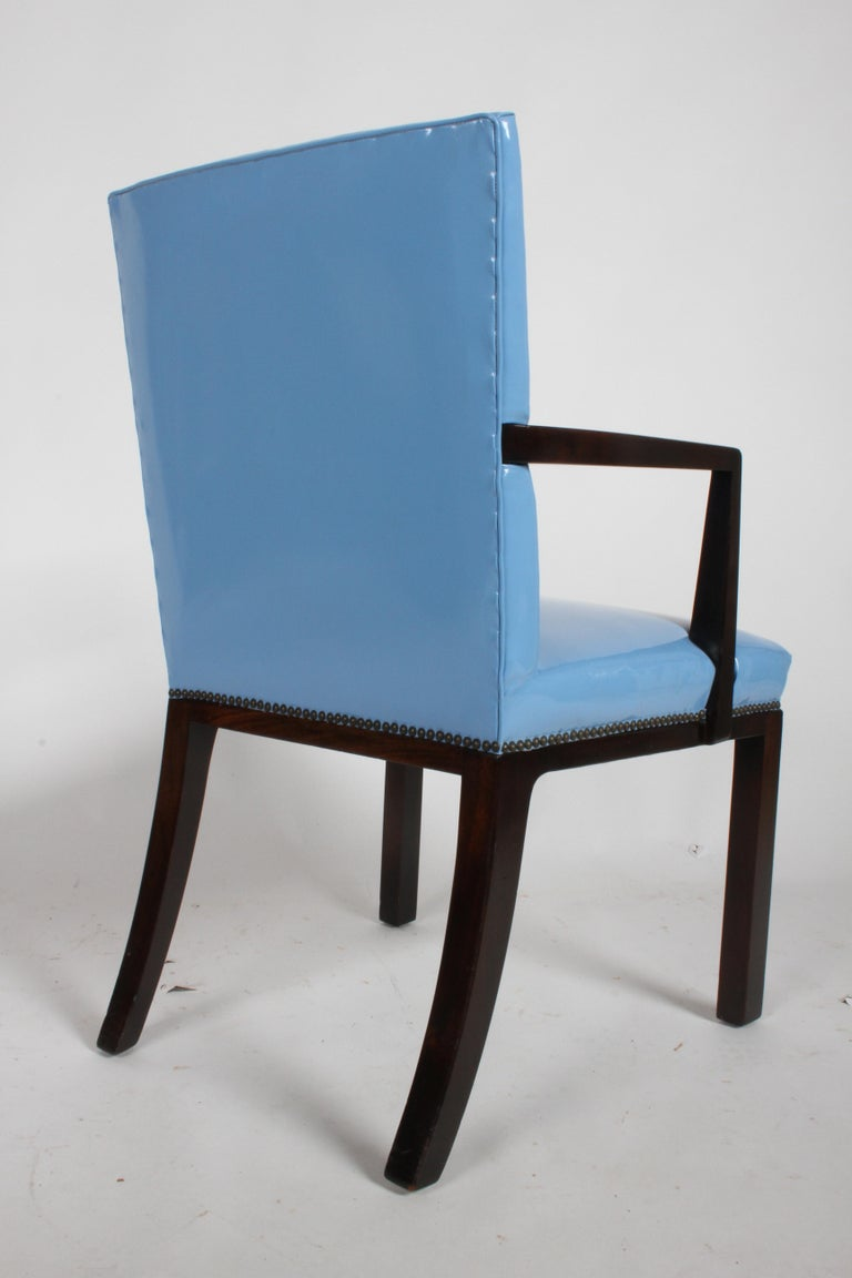 Set of Eight Edward J. Wormley for Dunbar Dining Chairs, circa 1950 For Sale 6