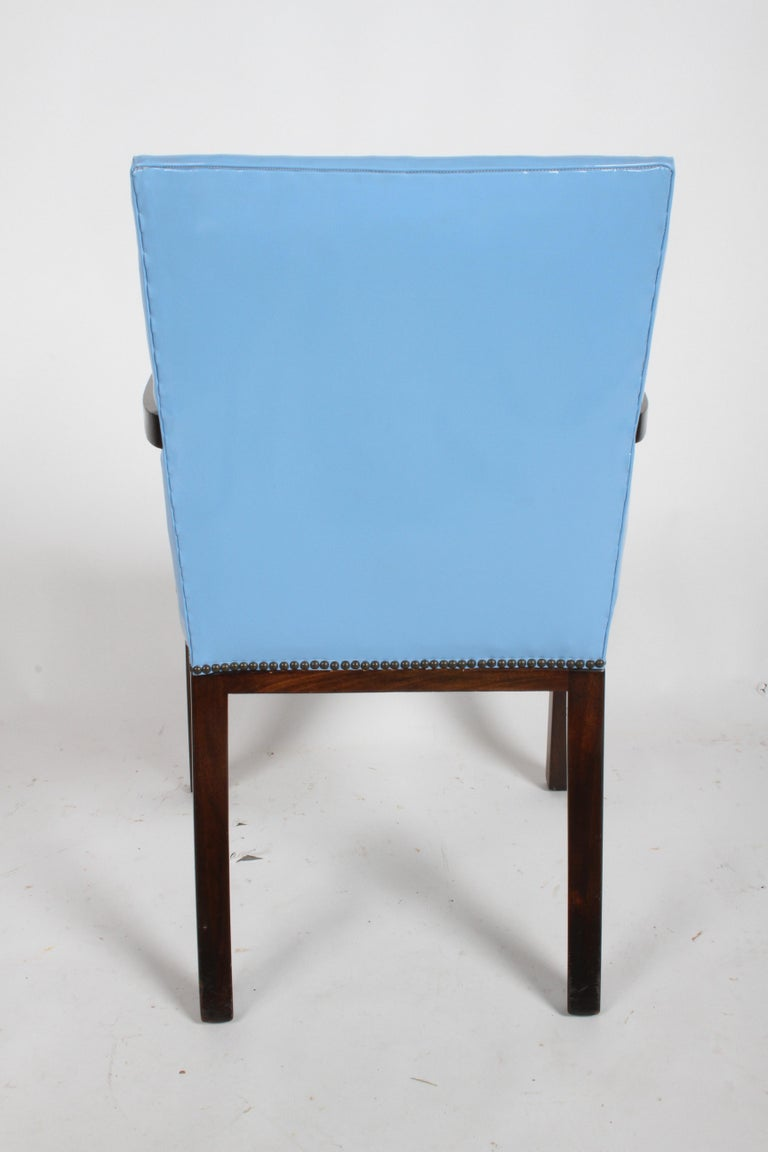 Set of Eight Edward J. Wormley for Dunbar Dining Chairs, circa 1950 For Sale 10