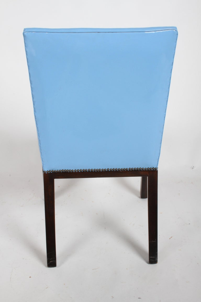 Set of Eight Edward J. Wormley for Dunbar Dining Chairs, circa 1950 For Sale 12