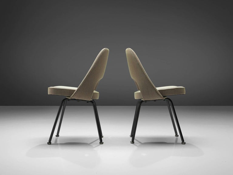 Late 20th Century Set of Ten Eero Saarinen for Knoll Chairs For Sale