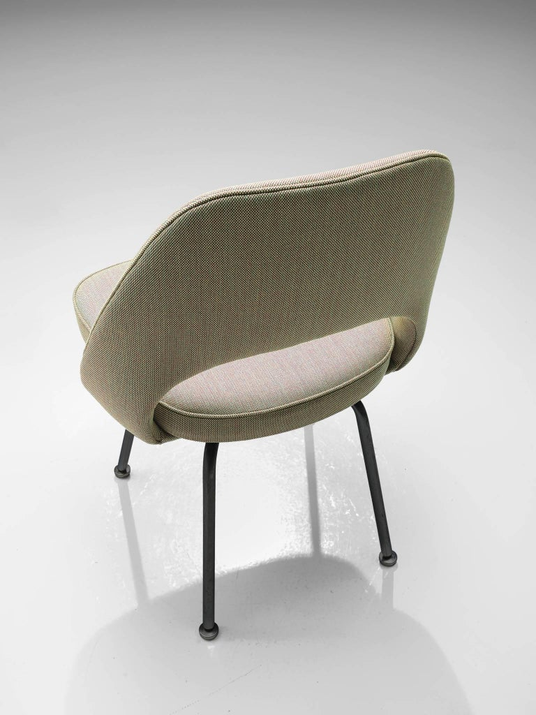 Steel Set of Ten Eero Saarinen for Knoll Chairs For Sale