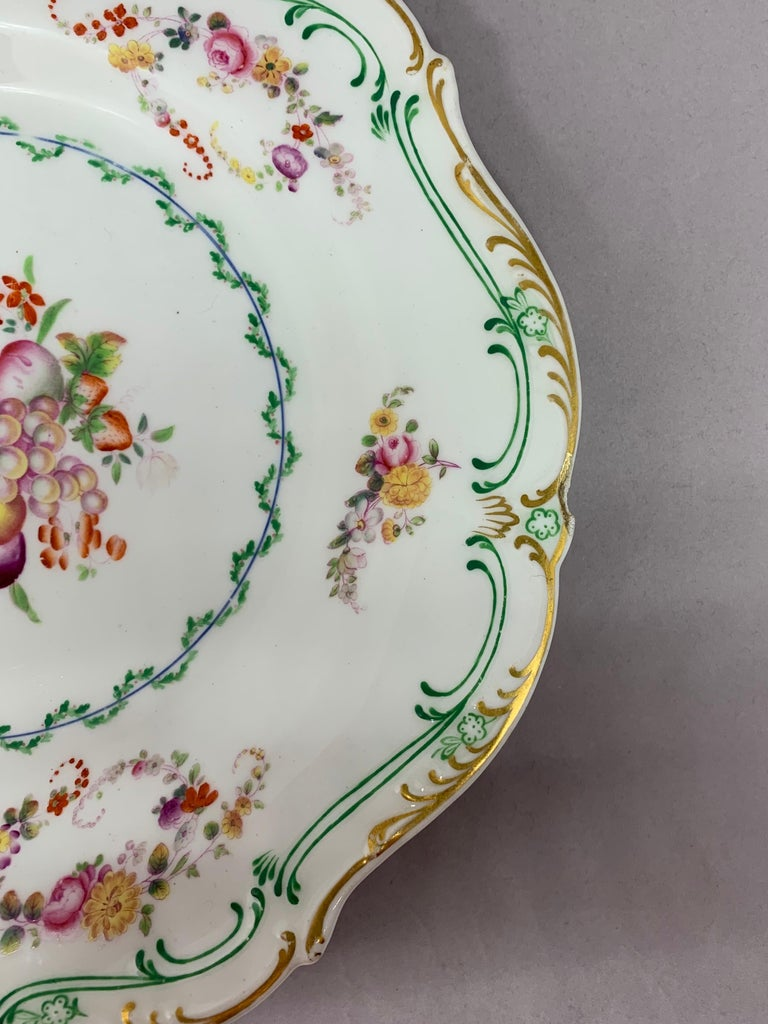 Set of Eight English Plates For Sale 6