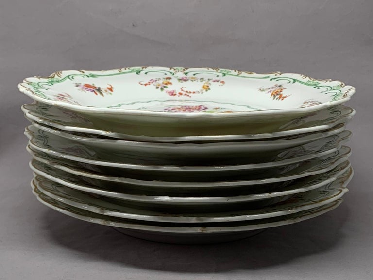 Set of Eight English Plates For Sale 7