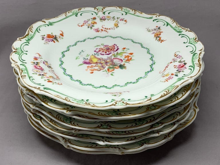 Set of Eight English Plates For Sale 8