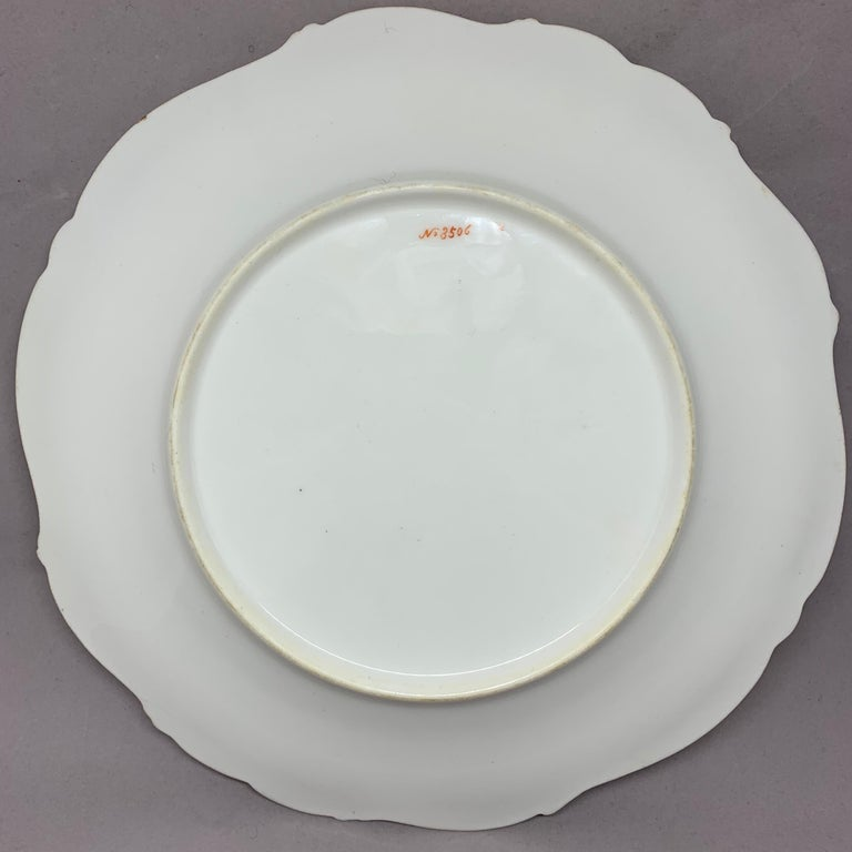 Set of Eight English Plates For Sale 9