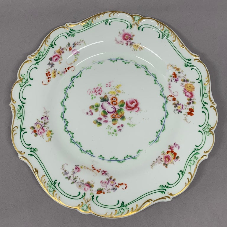 19th Century Set of Eight English Plates For Sale