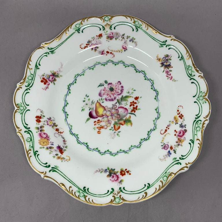 Set of Eight English Plates For Sale 1