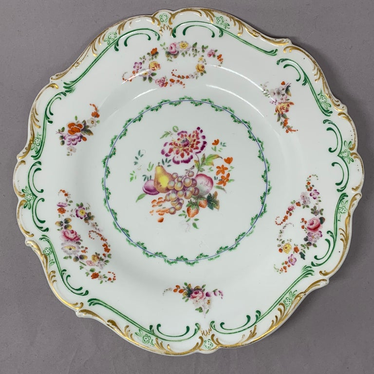 Set of Eight English Plates For Sale 2