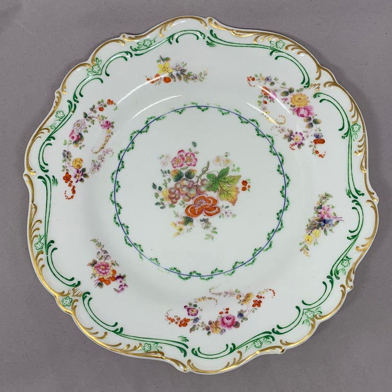 Set of Eight English Plates For Sale 3